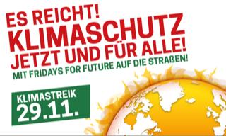 Weltklimakonferenz in Genf Klimaschutzabkommen Demo fredays for future